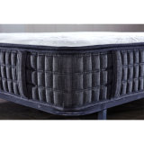 Colchón comprimido plano del látex del resorte de Bonnell con muebles del dormitorio