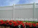 Panneau de clôture de la vie privée de vinyle