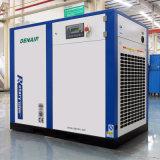 Compresseur d'air stationnaire électrique lubrifié industriel (aucun réservoir)