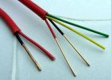 High Performance 2-8 Core rouge cuivre Câble d'alarme incendie