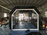 Bewegliches aufblasbares Zelt für Autopflege