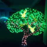 2D Kerstmis steekt de Lichten van de Openlucht LEIDENE Decoratie van het Huwelijk aan
