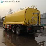 HOWO 6X4 기름 트럭 유조 트럭 25000 리터 디젤 연료