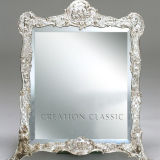 Specchio d'argento colorato di vetro per lo specchio decorativo/che veste specchio