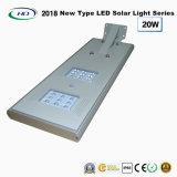 Neuer Typ 2018 einteiliges Solar-LED-Garten-Licht 20W