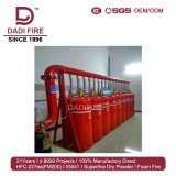 Supresión de fuego eléctrica del equipo FM200 70-180L Hfc-227ea de la lucha contra el fuego de Hotsale