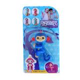 Обезьяна любимчика перста обезьяны Fingerling самого лучшего и самого дешевого младенца подарка детей взаимодействующая для рождества