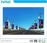 Tabellone impermeabile esterno del LED del palo chiaro della via che fa pubblicità alla visualizzazione di LED del manifesto
