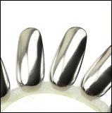 輝いたミラーのアルミニウム粉の釘の双安定回路ミラーのクロム顔料