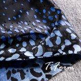 Jacquardwebstuhl-Polyester-Gewebe mit Leopard-Muster
