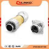 Cnlinko 신호 연결관 공급자 IP65 RJ45 Cat5 위원회 마운트 8p8c 연결관