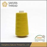 メタAramid炎-保護服装のための抑制縫う糸