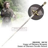 Jogo do jogo da arma dos tronos da espada 80cm HK8506 da agulha dos tronos
