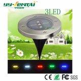 Ce/RoHS 승인되는 0.5W LED 옥외 태양 강화된 지상 램프