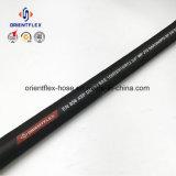 Boyau hydraulique de spirale en caoutchouc de fil d'acier de la Chine