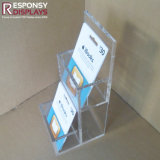 Contre- premier présentoir acrylique d'accessoires d'étalage de magasin d'étalage de carte