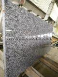 床タイルまたは壁のクラッディングのための安くか自然で白い波の花こう岩