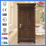 Intérieur / extérieur Dessins et modèles de porte en bois avec la nature de la porte de placage (JHK-004P)