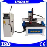 aTC CNC-Fräser-Maschine des hölzernen linearen Karussell-3D Drehmit Selbsthilfsmittel-Wechsler