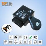 먼 진단 기능 Tk228-Ez를 가진 OBD2 SIM 카드 GPS 추적자