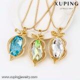43148 Xuping leuchtende Halskette, Kristalle von den Swarovski Form-Dame-Schmucksachen