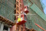 Elevatore generale della costruzione della doppia gabbia Sc160/160
