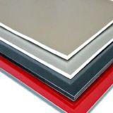 Het Samengestelde die Blad van het aluminium voor Decoratie van de Muur van het Bureau de Buiten wordt gebruikt