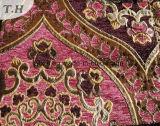 Il tessuto luminoso del sofà di serie del jacquard del Chenille e tessuto della mobilia