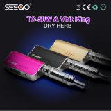 De Batterij van Seego tc-50W & de Beste Droge Verstuiver van het Kruid met het Krachtige Systeem van de Filtratie