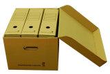 Cadre de empaquetage ondulé fait sur commande pour l'emballage de fichier