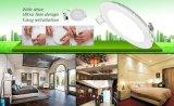 Теплый белый, новой продукции 2700K светодиодные светильники акцентного освещения с регулируемой яркостью набегающей раунда ультратонких светодиодная панель лампа для освещения в коммерческих целях для дома и офиса