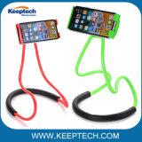 La pendaison de cou flexible du support de téléphone cellulaire titulaire Stand paresseux pour téléphone portable ou Tablet PC