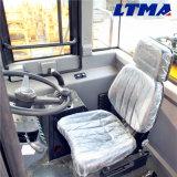 Затяжелитель колеса Китая Ltma Zl50 5t с бортовым ведром сброса
