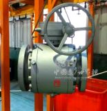 Valvola a sfera piena forgiata della flangia della porta 2PC del acciaio al carbonio