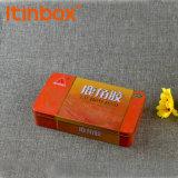 Caixa de comprimidos de metal para o hospital e a clínica com Grau Alimentício a folha de flandres