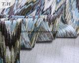 De stof van de Bank van de Jacquard van het Patroon van de Zigzag in 2017