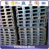 Barre d'acier noir Canal structurelles (CZ-C10)