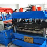 1100mm glasig-glänzendes Jobstepp-Fliese-Dach-Panel, das Maschine bildet