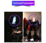 Ventilateur LED holographique en 3D pour l'intérieur d'affichage de publicité avec Vivid Image