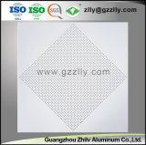 Fabricant Panneau en aluminium perforé de boxe au plafond avec SGS qualifiée du Conseil