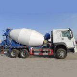 Gloednieuwe HOWO 10 de Kubieke Vrachtwagen van de Concrete Mixer van Meters