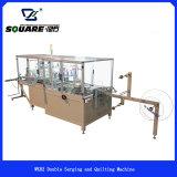 Mattress Border horizontal Stitch Machine with double Serging