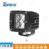 12V 24V Square 12W LED CREE Carro Luz Automática
