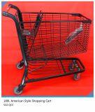 carretilla americana CS-A180 de las compras del carro de compras del estilo 180L