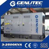 motore insonorizzato Genset diesel elettrico di 150kVA 120kw Perkins