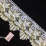 garniture de lacet de lis d'or de 9.5cm pour le festival, mariage, usager, anniversaire, nuptiale, décoration Hme888 de douche