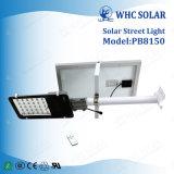 Contrôler automatiquement les réverbères intégrés par 50W d'énergie solaire d'IP65 DEL