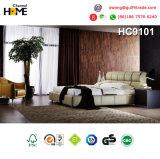 Sofá de cuero seccional moderno del estilo americano (HC8113)