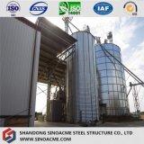 Memoria d'acciaio del grano di Peb con il silo