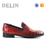 Мужчин высокое качество скольжения на обувь из воздухопроницаемой кожи